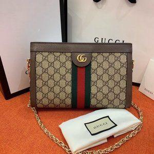 💯RARE Gucci&Ophidia GG Small Should20864